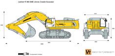 Liebherr R 980 SME Litronic Crawler Excavator