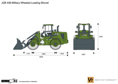 JCB 436 Military Wheeled Loading Shovel