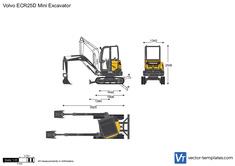 Volvo ECR25D Mini Excavator