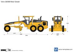 Volvo G930B Motor Grader
