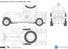 Rolls-Royce Armoured Car Pattern Mk.I