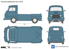 Renault Estafette Bed Van Pick-Up
