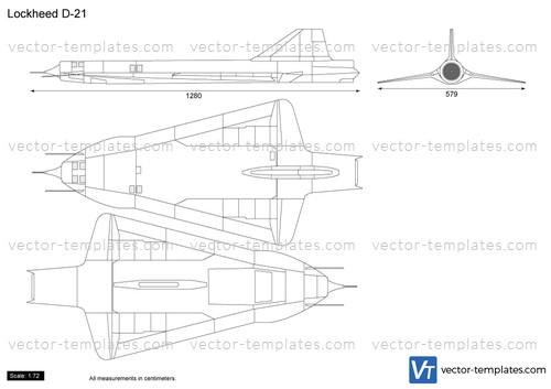 Lockheed D-21 Drone