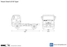 Nissan Diesel UD 85 Tipper