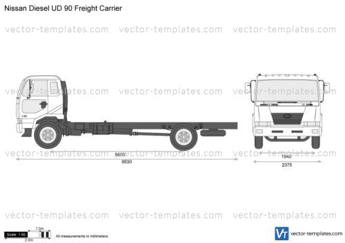 Nissan Diesel UD 90 Freight Carrier