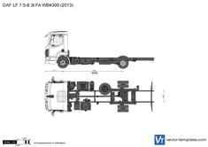 DAF LF 7.5-8.3t FA WB4300