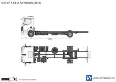 DAF LF 7.5-8.3t FA WB5000