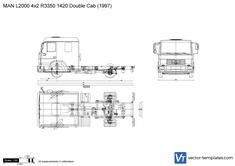 MAN L2000 4x2 R3350 1420 Double Cab