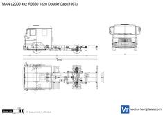 MAN L2000 4x2 R3650 1820 Double Cab
