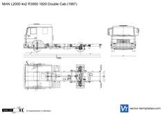 MAN L2000 4x2 R3950 1820 Double Cab