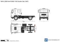 MAN L2000 4x4 R3560 1105 Double Cab
