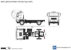 MAN L2000 4x4 R3560 1105 Short Cab