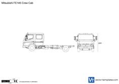 Mitsubishi FE145 Crew Cab