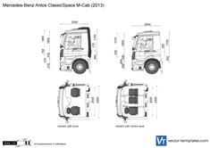 Mercedes-Benz Antos ClassicSpace M-Cab