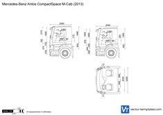 Mercedes-Benz Antos CompactSpace M-Cab