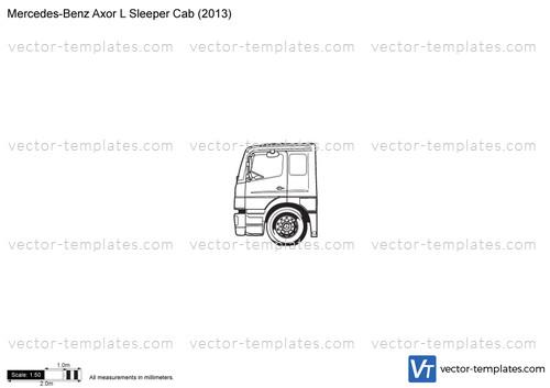 Mercedes-Benz Axor L Sleeper Cab