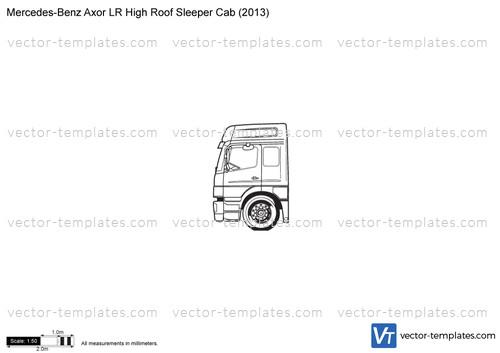 Mercedes-Benz Axor LR High Roof Sleeper Cab