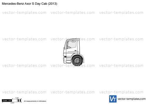 Mercedes-Benz Axor S Day Cab