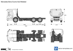 Mercedes-Benz Econic 6x2 Midsteer