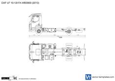 DAF LF 10-12t FA WB3900