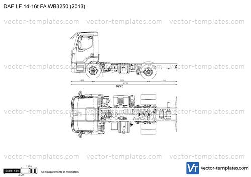 DAF LF 14-16t FA WB3250