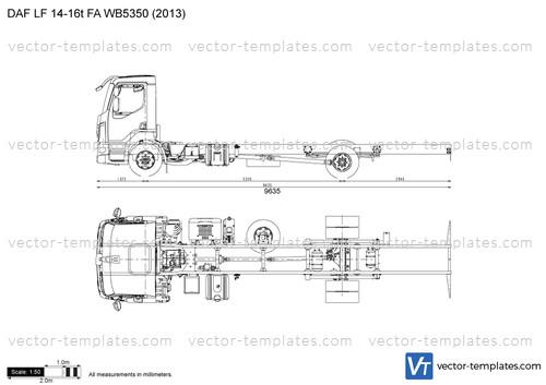 DAF LF 14-16t FA WB5350