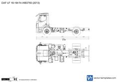 DAF LF 18-19t FA WB3750