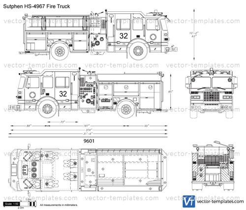 Sutphen HS-4967 Fire Truck