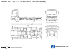 Mercedes-Benz Atego 1523 4x2 3560 Chassis Extended Cab
