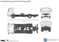 Mercedes-Benz Atego 1523 4x2 4160 Chassis