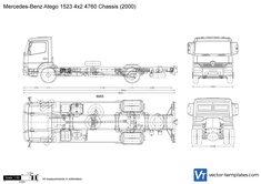 Mercedes-Benz Atego 1523 4x2 4760 Chassis