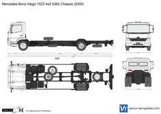 Mercedes-Benz Atego 1523 4x2 5360 Chassis