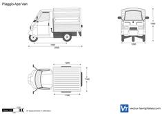 Piaggio Ape Van