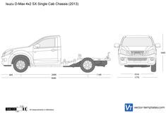 Isuzu D-Max 4x2 SX Single Cab Chassis