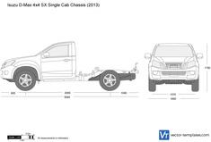 Isuzu D-Max 4x4 SX Single Cab Chassis