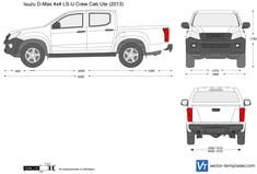 Isuzu D-Max 4x4 LS-U Crew Cab Ute