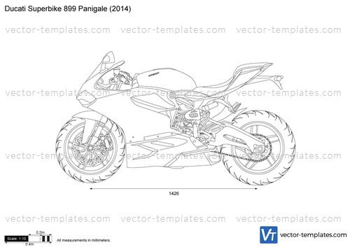 templates - motorcycles - ducati