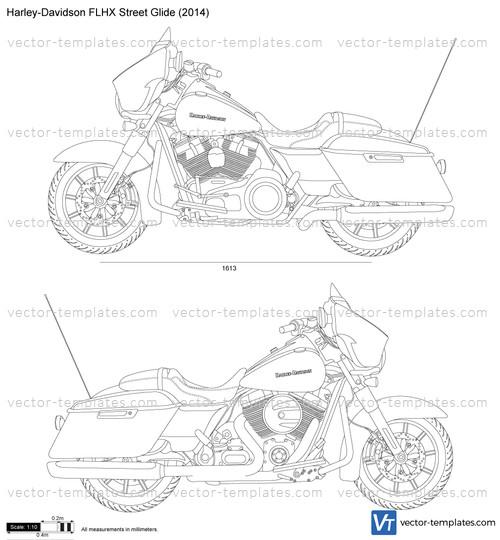 templates - motorcycles - harley-davidson