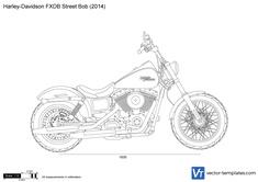 Harley-Davidson FXDB Street Bob