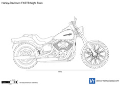 Harley-Davidson FXSTB Night Train