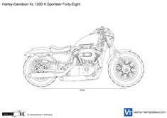 Harley-Davidson XL 1200 X Sportster Forty-Eight
