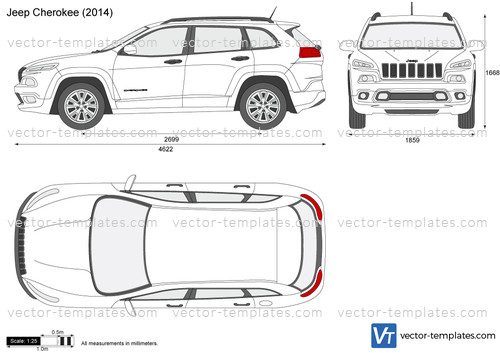 templates - cars - jeep