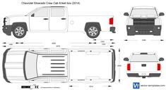 Chevrolet Silverado Crew Cab 8-feet box