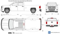 Chevrolet Silverado Crew Cab 8-feet box DRW