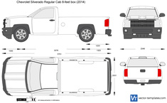Chevrolet Silverado Regular Cab 8-feet box