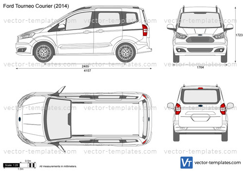 Templates Cars Ford Ford Tourneo Courier
