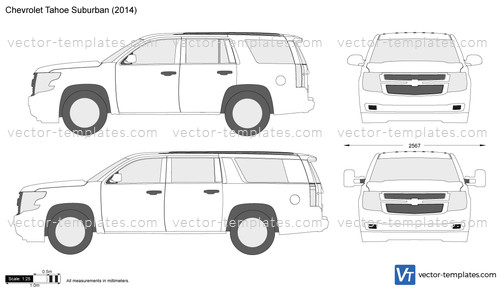 Templates Cars Chevrolet Chevrolet Tahoe Suburban