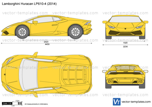 Templates cars lamborghini lamborghini huracan lp610 4 for Lamborghini template
