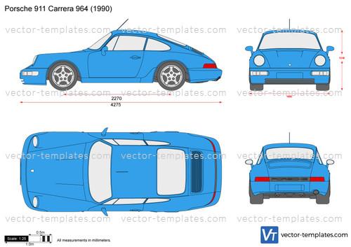 Porsche 911 Carrera 964