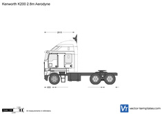 Kenworth K200 2.8m Aerodyne
